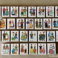 Cajas de Cerillas: CAJAS DE CERILLAS. SERIE TRAJES TIPICOS DE EUROPA: 29 CAJAS DISTINTAS - FOSFORERA ESPAÑOLA. Lote 194780157