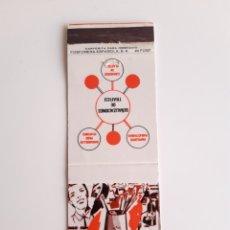 Cajas de Cerillas: CARTERITA CERILLAS - LINCE - PUBLICIDAD ( SEVILLA ). Lote 194950277