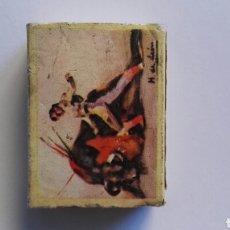 Cajas de Cerillas: 27 EL PASE POR BAJO CAJA DE CERILLAS TOROS TAUROMAQUIA. Lote 195176912