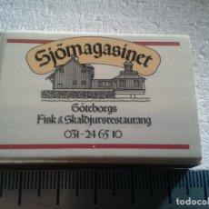 Cajas de Cerillas: SJOMASINET SUECIA GVA . COMPLETA. CAJA DE CERILLAS. SWEDEN. Lote 195245845