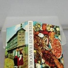Cajas de Cerillas: CAJA CERILLAS TARRAGONA RESTAURANTE TRABADOIRA . Lote 195251145