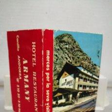 Cajas de Cerillas: CAJA CERILLAS ANDORRA RESTAURANTE ARMANY . Lote 195251163
