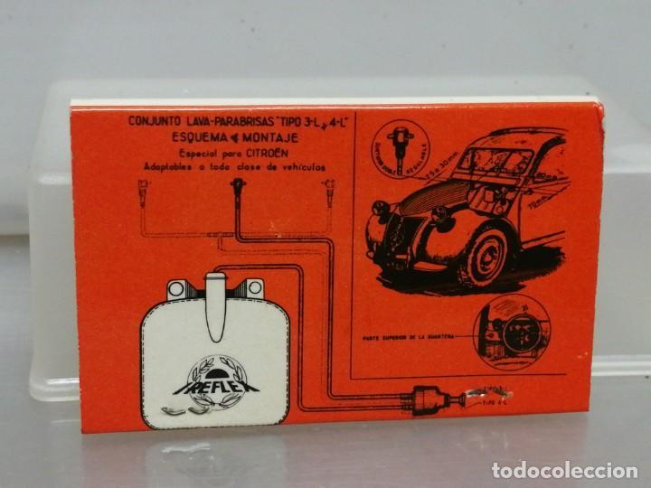 Cajas de Cerillas: CAJA CERILLAS MADRID IREFLEX RECAMBIOS PARA COCHES - Foto 2 - 195251293