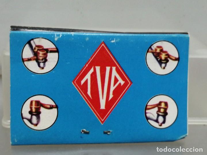 Cajas de Cerillas: CAJA CERILLAS VIZCAYA TVA RECAMBIOS PARA COCHES - Foto 2 - 195251330