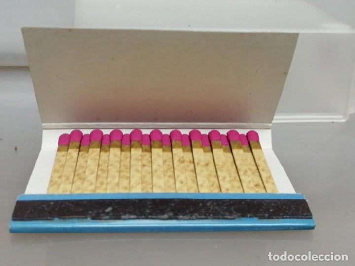 Cajas de Cerillas: CAJA CERILLAS MADRID RODOLFO BIBER METZ RECAMBIOS PARA COCHES - Foto 3 - 195251368
