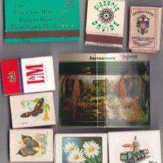Cajas de Cerillas: 9 CAJAS CERILLAS LLENAS - VER LOS DETALLES EN LA DESCRIPCION DE LAS MISMAS.. Lote 195267457