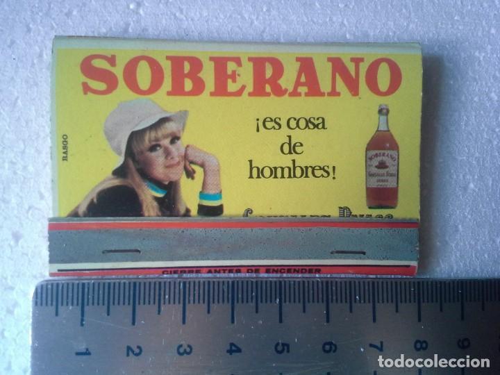 Cajas de Cerillas: bar urumea madrid . soberano y tio pepe. completa. caja de cerillas. - Foto 2 - 195273760