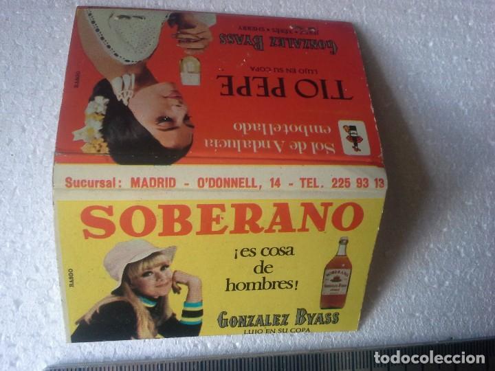 Cajas de Cerillas: bar urumea madrid . soberano y tio pepe. completa. caja de cerillas. - Foto 4 - 195273760