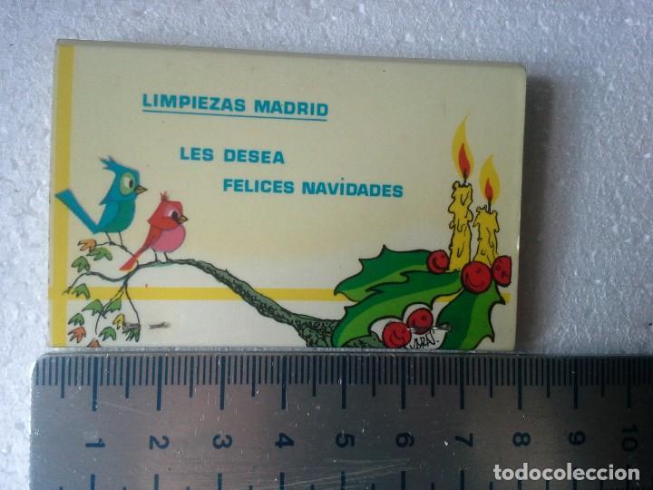 LIMPIEZAS MADRID. COMPLETA. CAJA DE CERILLAS. (Coleccionismo - Objetos para Fumar - Cajas de Cerillas)