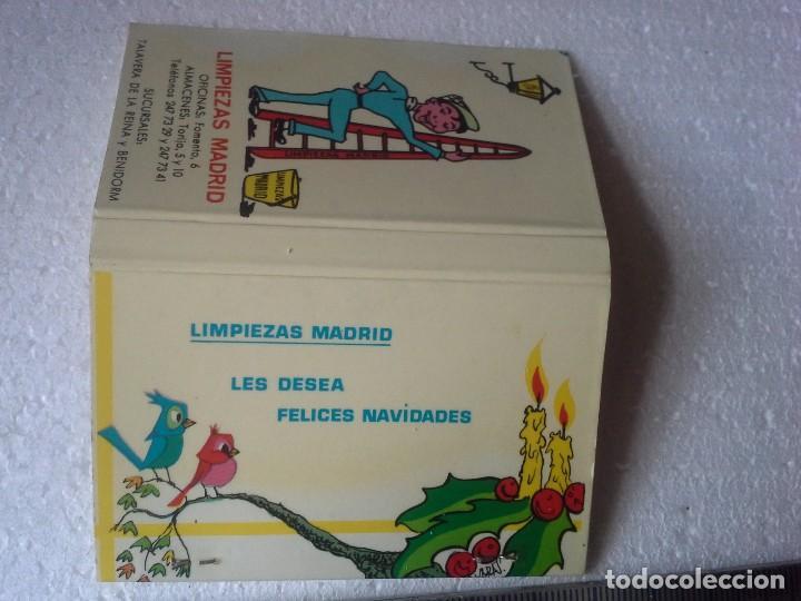 Cajas de Cerillas: limpiezas madrid. completa. caja de cerillas. - Foto 4 - 195276128