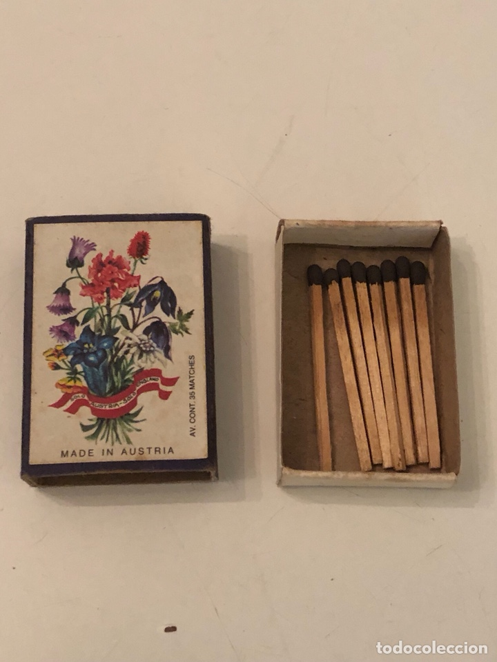 Cajas de Cerillas: Cerillas y cajas de cerillas, mitad del siglo XX, varios países - Foto 14 - 195292125