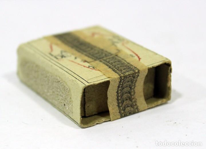 Cajas de Cerillas: ANTIGUA CAJA DE CERILLAS PRECINTADA. HACIENDA PÚBLICA. - Foto 2 - 195300018