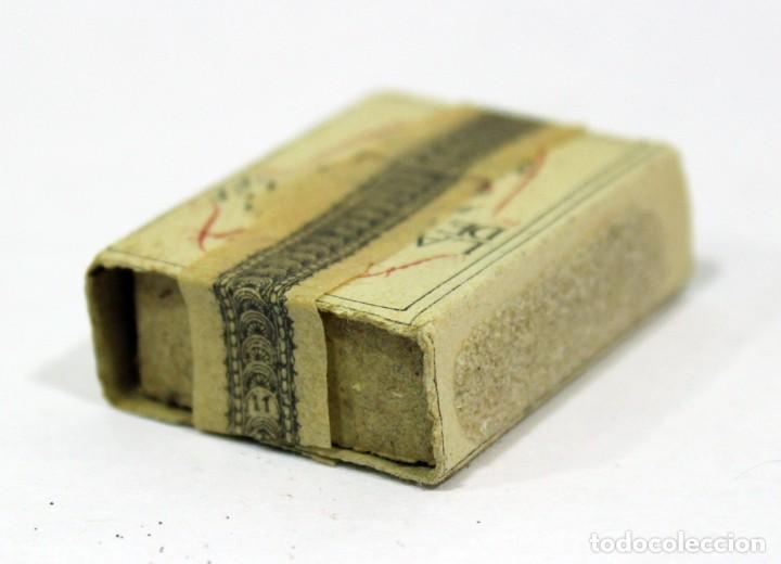 Cajas de Cerillas: ANTIGUA CAJA DE CERILLAS PRECINTADA. HACIENDA PÚBLICA. - Foto 4 - 195300018