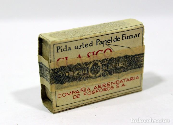 Cajas de Cerillas: ANTIGUA CAJA DE CERILLAS PRECINTADA. HACIENDA PÚBLICA. - Foto 5 - 195300018