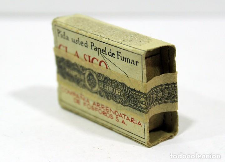 Cajas de Cerillas: ANTIGUA CAJA DE CERILLAS PRECINTADA. HACIENDA PÚBLICA. - Foto 6 - 195300018