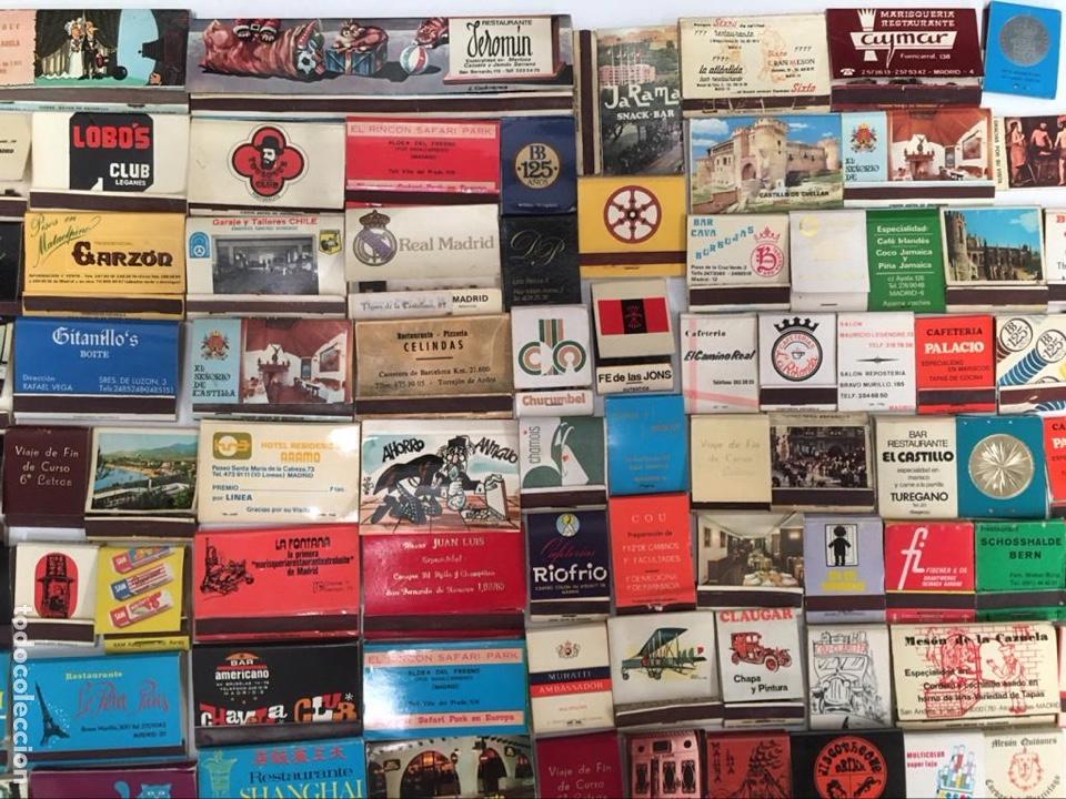 Cajas de Cerillas: Importante lote de cerillas publicidad ver fotos - Foto 2 - 195300728