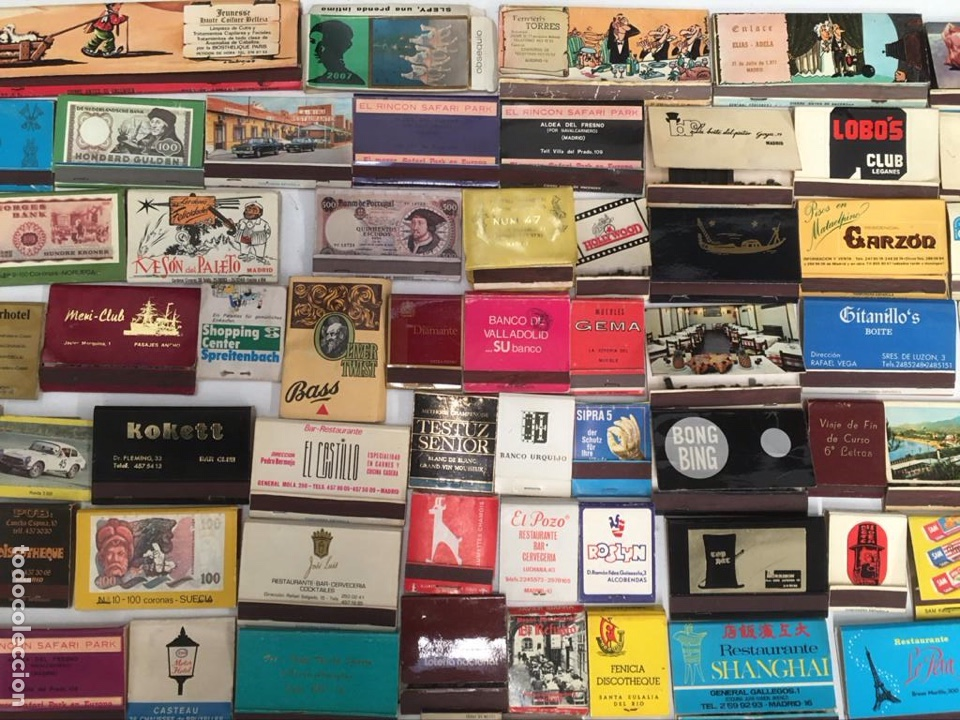 Cajas de Cerillas: Importante lote de cerillas publicidad ver fotos - Foto 3 - 195300728