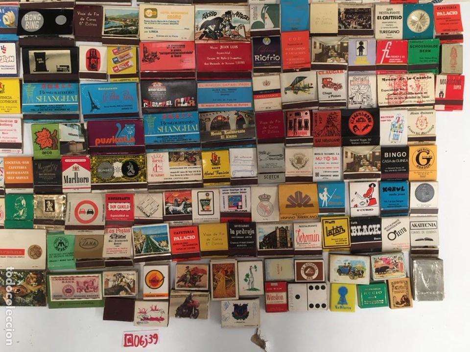 Cajas de Cerillas: Importante lote de cerillas publicidad ver fotos - Foto 6 - 195300728