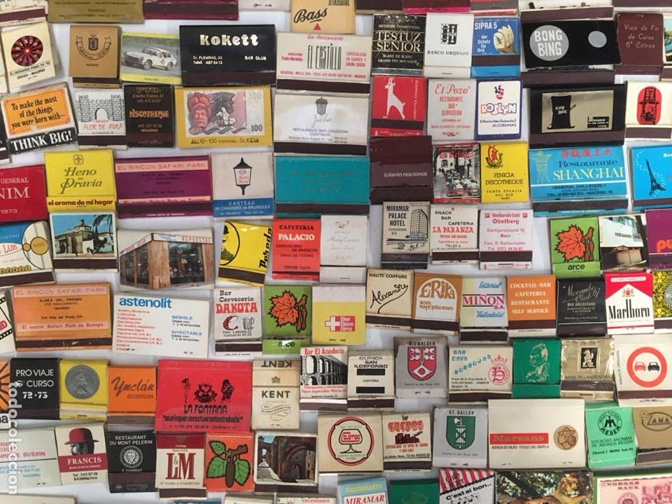 Cajas de Cerillas: Importante lote de cerillas publicidad ver fotos - Foto 8 - 195300728