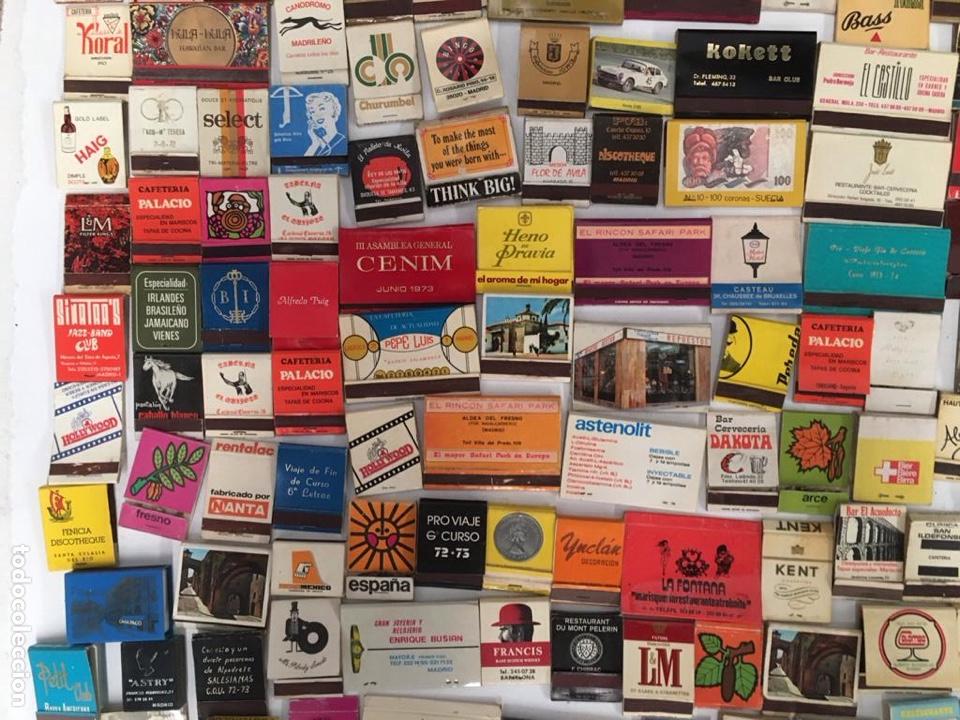 Cajas de Cerillas: Importante lote de cerillas publicidad ver fotos - Foto 9 - 195300728