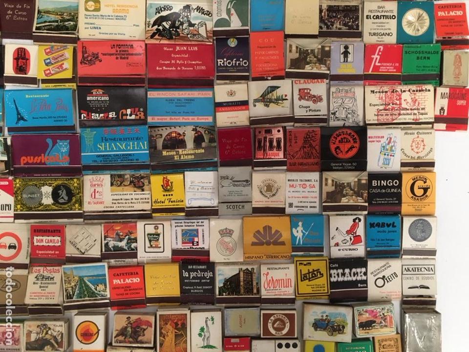 Cajas de Cerillas: Importante lote de cerillas publicidad ver fotos - Foto 10 - 195300728