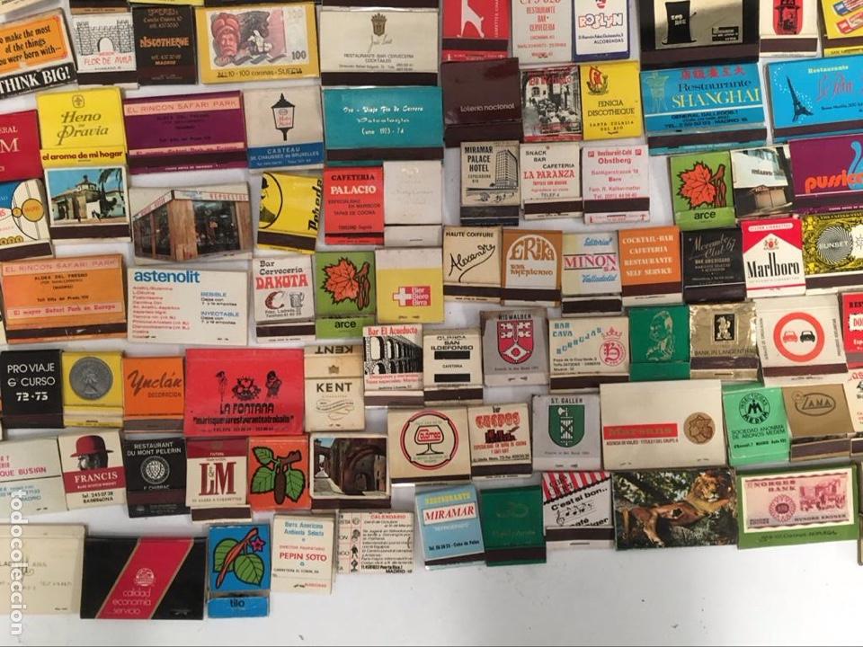 Cajas de Cerillas: Importante lote de cerillas publicidad ver fotos - Foto 12 - 195300728