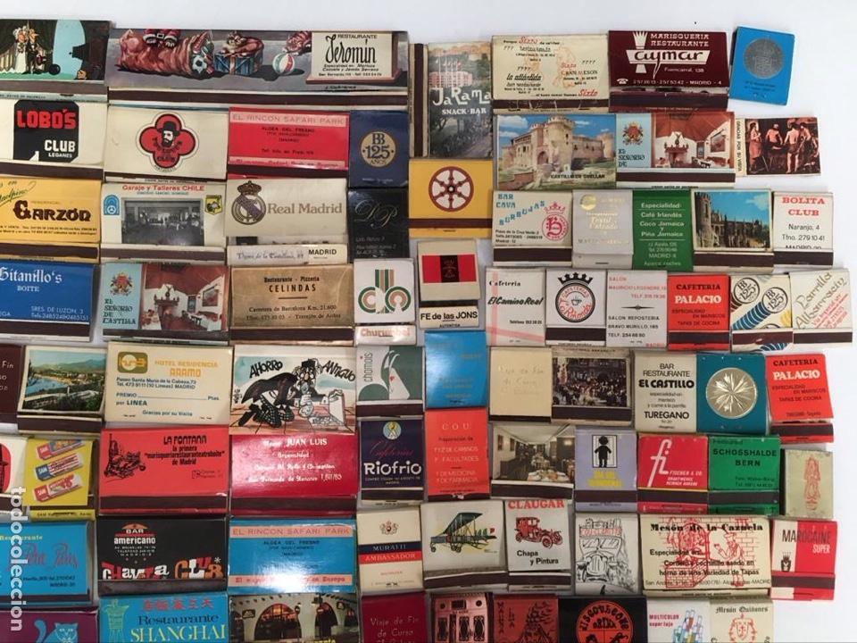 Cajas de Cerillas: Importante lote de cerillas publicidad ver fotos - Foto 13 - 195300728