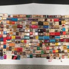 Cajas de Cerillas: IMPORTANTE LOTE DE CERILLAS PUBLICIDAD VER FOTOS. Lote 195300728