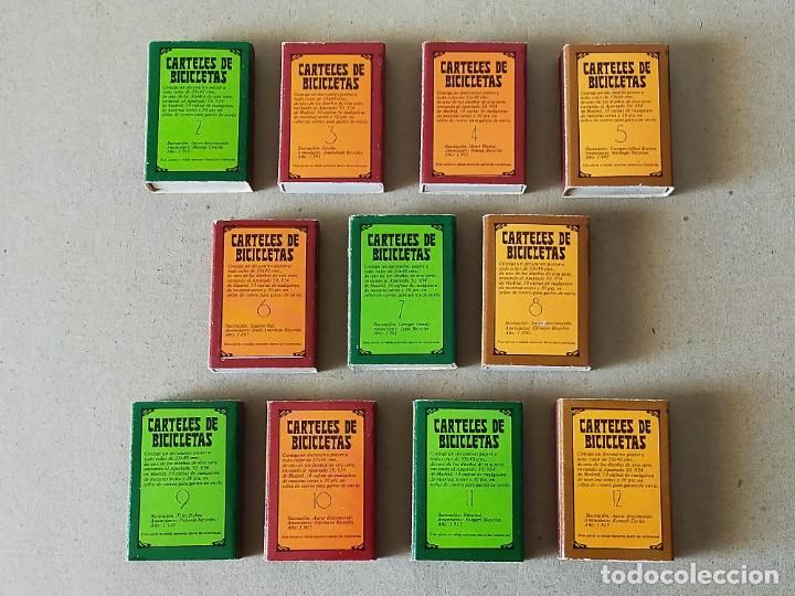 Cajas de Cerillas: CAJAS DE CERILLAS SERIE: CARTELES DE BICICLETAS: 11 CAJAS DISTINTAS - FOSFOROS DEL PIRINEO - Foto 2 - 195386341