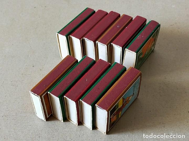Cajas de Cerillas: CAJAS DE CERILLAS SERIE: CARTELES DE BICICLETAS: 11 CAJAS DISTINTAS - FOSFOROS DEL PIRINEO - Foto 3 - 195386341
