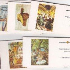 Cajas de Cerillas: SERIE COMPLETA 10 CAJAS SIN CERILLAS DE PINTOR SOROLLA - AÑOS 70-FOSFORERA ESPAÑOLA. Lote 195417936