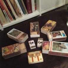 Cajas de Cerillas: CAJETILLAS DE CERILLAS LLENAS ,VER FOTOS. Lote 196134137