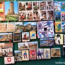 Cajas de Cerillas: 50 CAJAS DE CERILLAS TURISMO. Lote 198234406