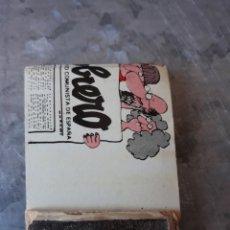 Cajas de Cerillas: CAJA CERILLAS MUNDO OBRERO. Lote 199199356
