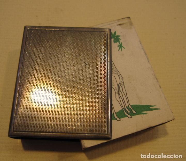 Cajas de Cerillas: FUNDA DE PLATA PARA CAJA DE CERILLAS. 15 GR. 4,3 X 3,5 X 1,5 CM - Foto 6 - 199932150