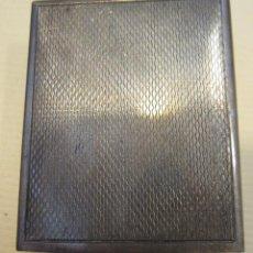 Cajas de Cerillas: FUNDA DE PLATA PARA CAJA DE CERILLAS. 15 GR. 4,3 X 3,5 X 1,5 CM. Lote 199932150