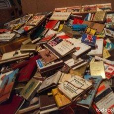 Cajas de Cerillas: GRAN LOTE DE 300 CAJETILLAS DE CERILLAS. Lote 199940476