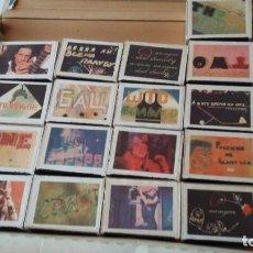 Cajas de Cerillas: 17 CAJAS CERILLAS EN CAJA ORIGINAL, BLACK ROSE- RED ROSE VER FOTOS. Lote 200072730