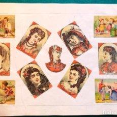 Cajas de Cerillas: LÁMINA CERILLAS S.XIX. Lote 202279985
