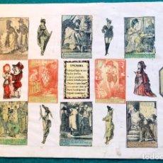 Cajas de Cerillas: LÁMINA CERILLAS S. XIX. Lote 202280256