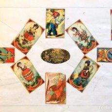 Cajas de Cerillas: LÁMINA CERILLAS S. XIX. Lote 202280441