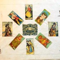 Cajas de Cerillas: LÁMINA CERILLAS S. XIX. Lote 202280505
