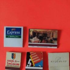 Cajas de Cerillas: LOTE CINCO CAJAS DE CERILLAS. Lote 204126065