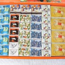 Cajas de Cerillas: COLECCIÓN HOMENAJE A PICASSO DE 77 CAJAS CERILLAS DE ESPECIALES DE FESA ESTUCHE DE NAVIDAD DE 1973. Lote 204155910