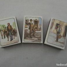 Cajas de Cerillas: CERILLAS DE CERA JUEGO DE 3. Lote 205116772