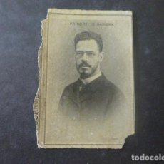 Cajas de Cerillas: PRINCIPE DE BAVIERA CROMO ENVUELTA SIGLO XIX. Lote 205357130