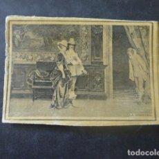 Cajas de Cerillas: LA SOSPECHA CROMO ENVUELTA SIGLO XIX. Lote 205357528