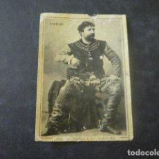 Cajas de Cerillas: MASINI ARTISTA CROMO ENVUELTA SIGLO XIX. Lote 205358435