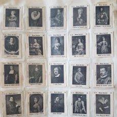 Cajas de Cerillas: 72 CROMOS CAJAS DE CERILLAS HACIA 1900 MONTADOS SOBRE PAPEL. Lote 205599190