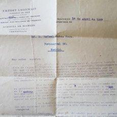 Cajas de Cerillas: GUERRA CIVIL BANDO REPUBLICANO ORDEN DE INCAUTACION BIENES CAJAS DE VALORES BANCA 1937. Lote 205599397